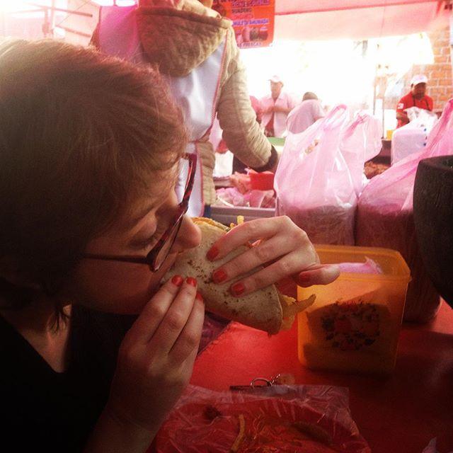 Slow travel e fast food de rua no México