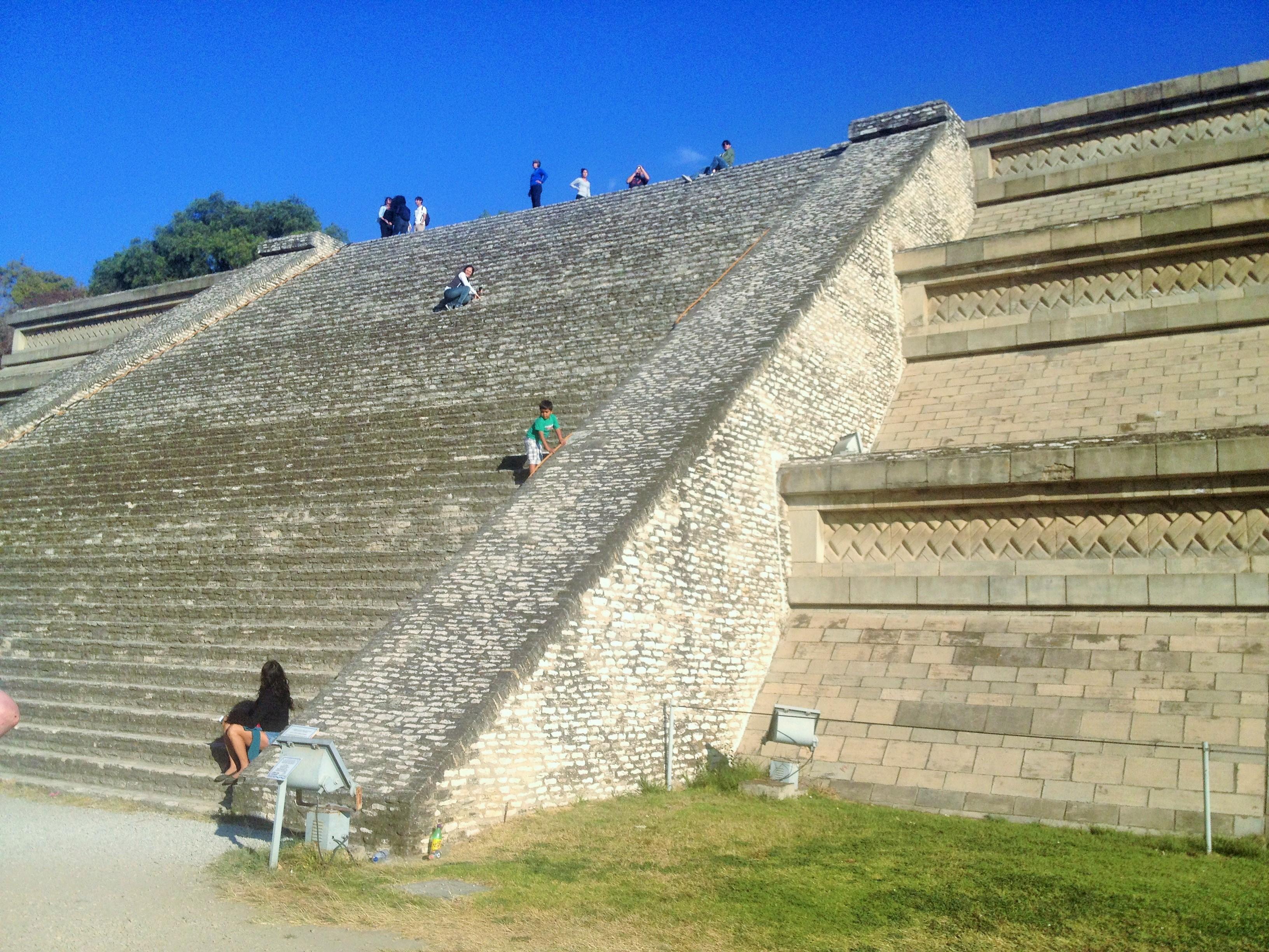 Vista das Pirâmides de Cholula - Puebla - México