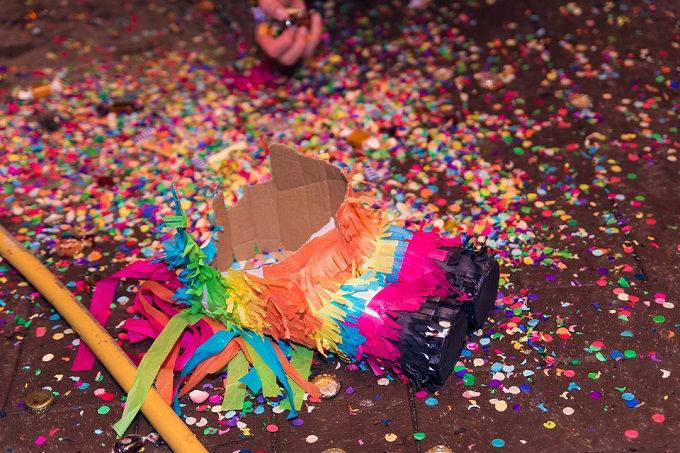 Natal no México: piñata