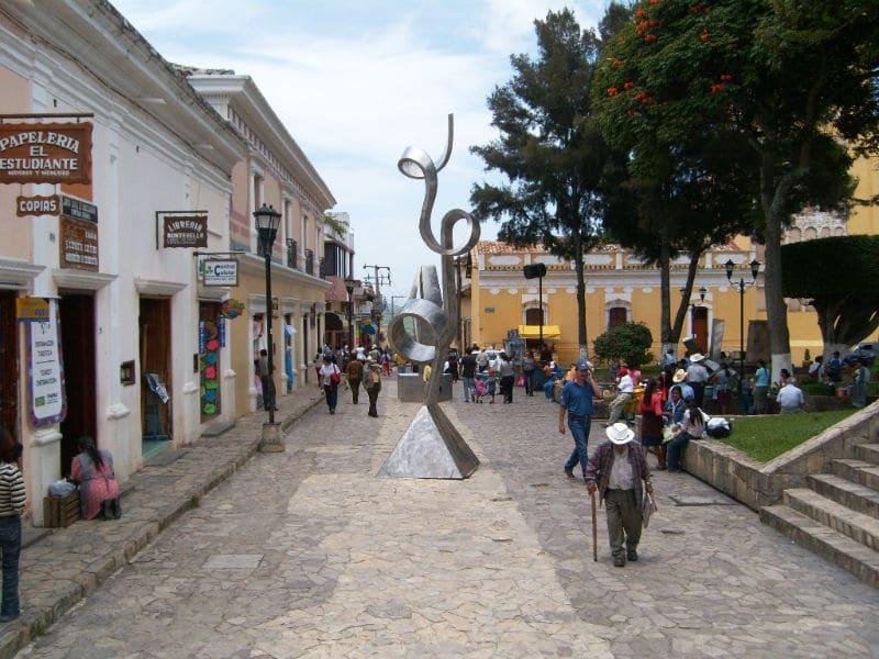 Centro de Comitán de Domínguez, no México