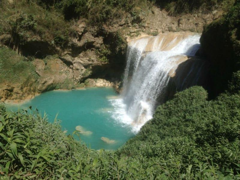 Cascatas de El Clifón, em Chiapas