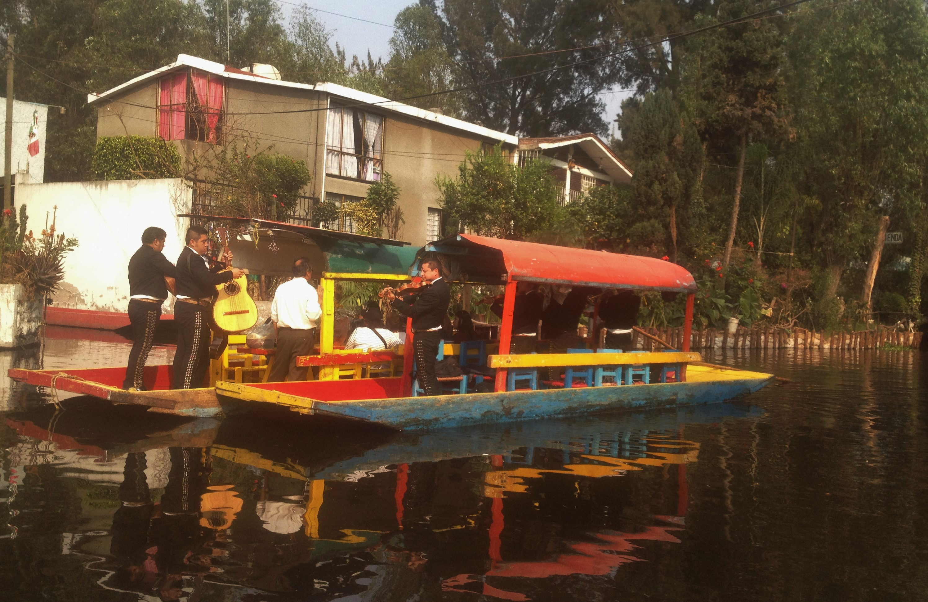 Como chegar em Xochimilco