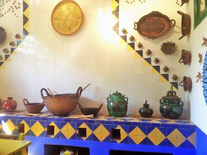 Cozinha do Museu Frida Kahlo