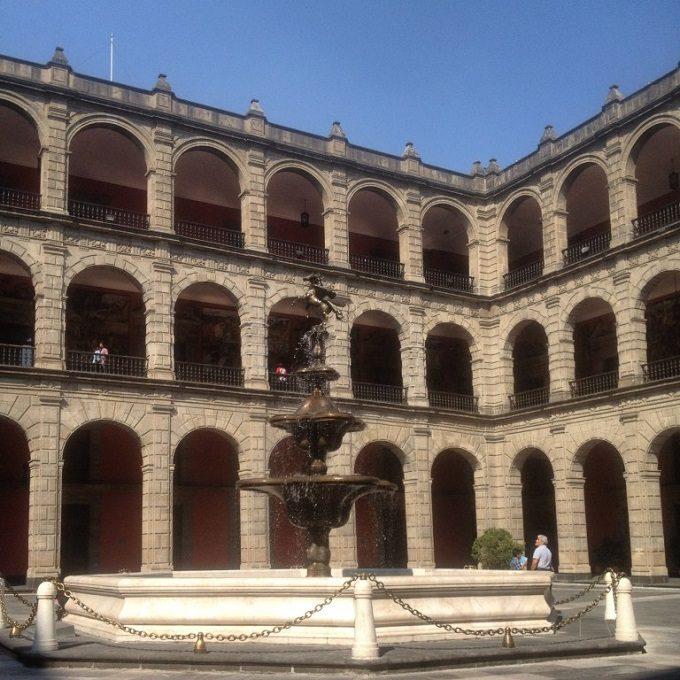 Galeria do Palácio Nacional - Cidade do México