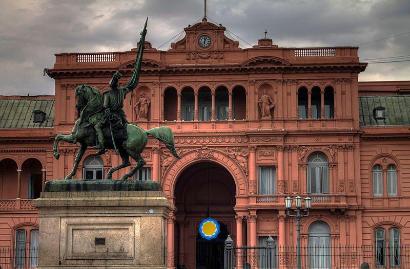 A Casa Rosada pode ser conhecida de metrô em Buenos Aires