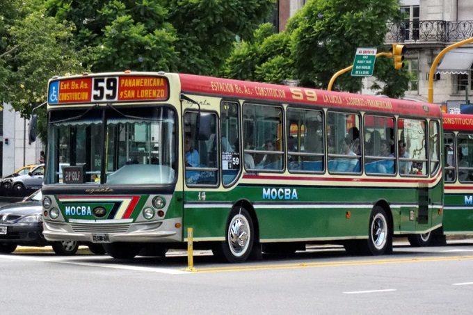 Como andar de ônibus em Buenos Aires
