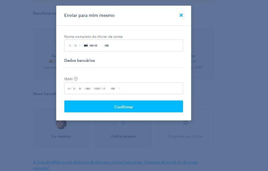 Como usar o TransferWire para transferências internacionais