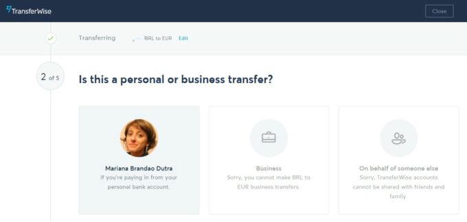 Transferindo dinheiro para o exterior com o TransferWise