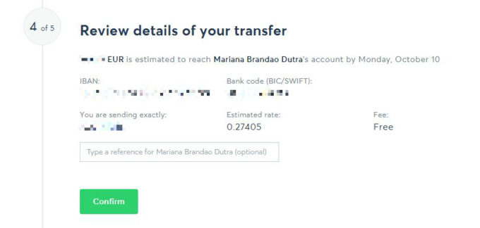 TransferWise é confiável e seguro
