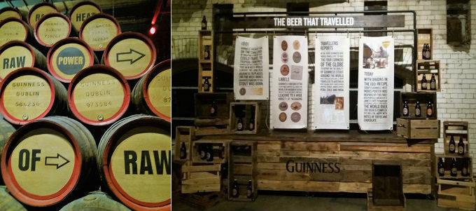 Visita à fábrica da Guinness em Dublin