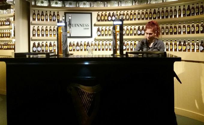 Bar da Guinness em Dublin