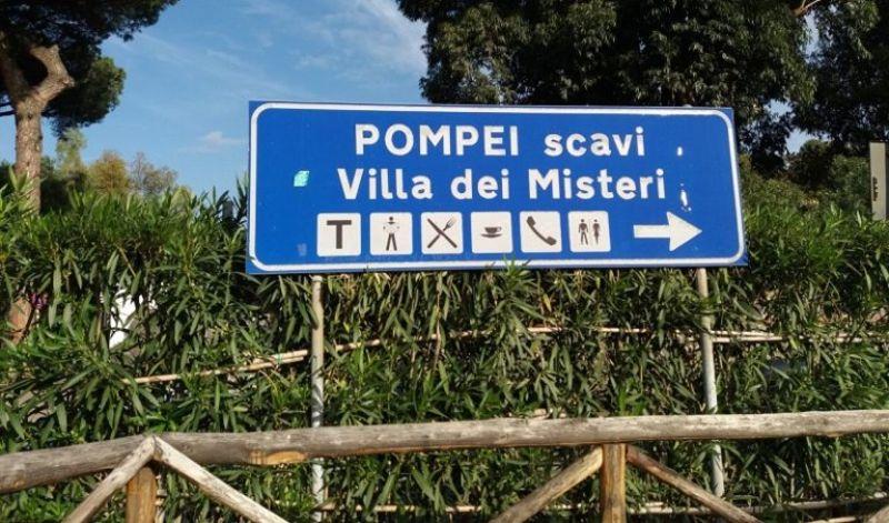 Chegada à Pompeia