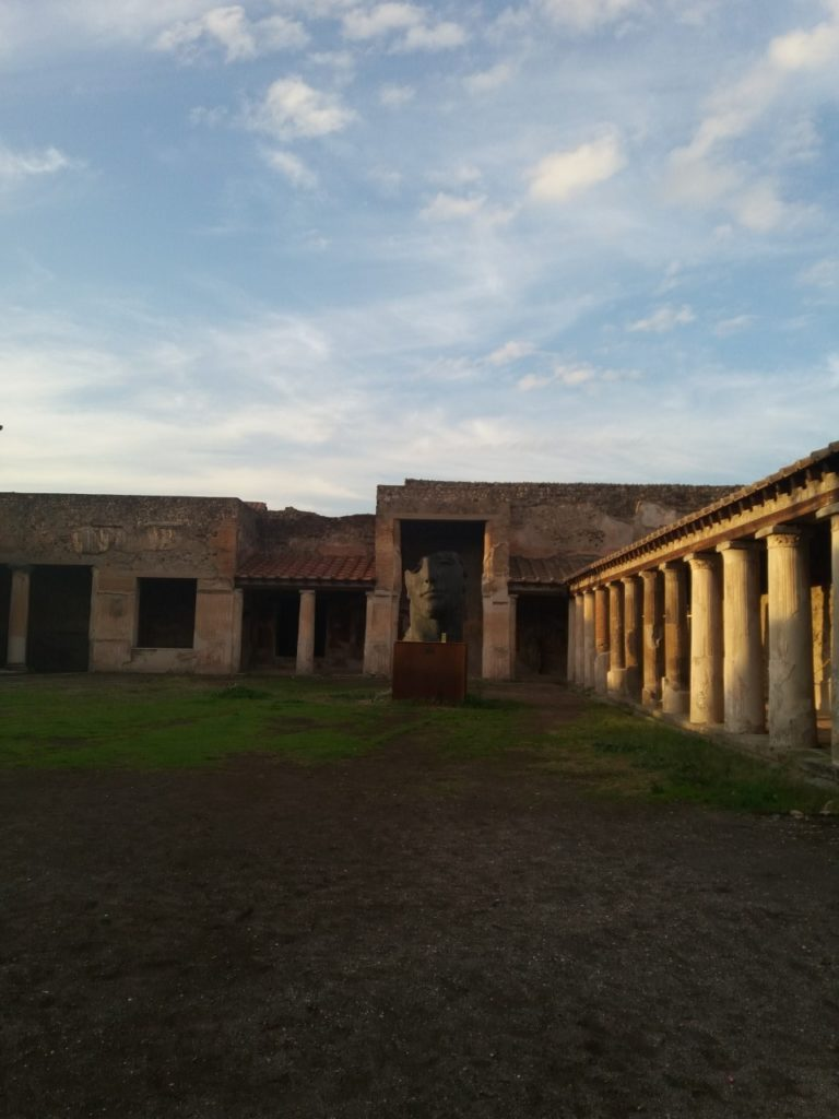 Ruínas de Pompeia na Itália