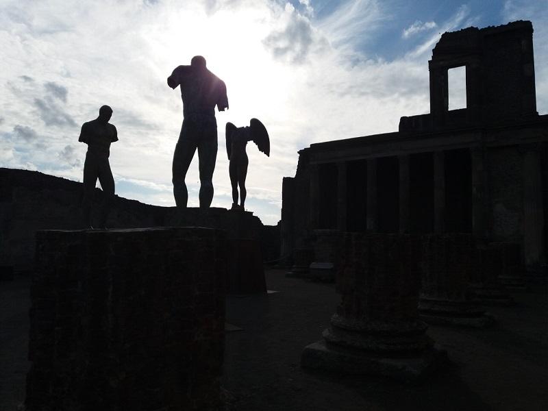 Visitar as ruínas de Pompeia na Itália