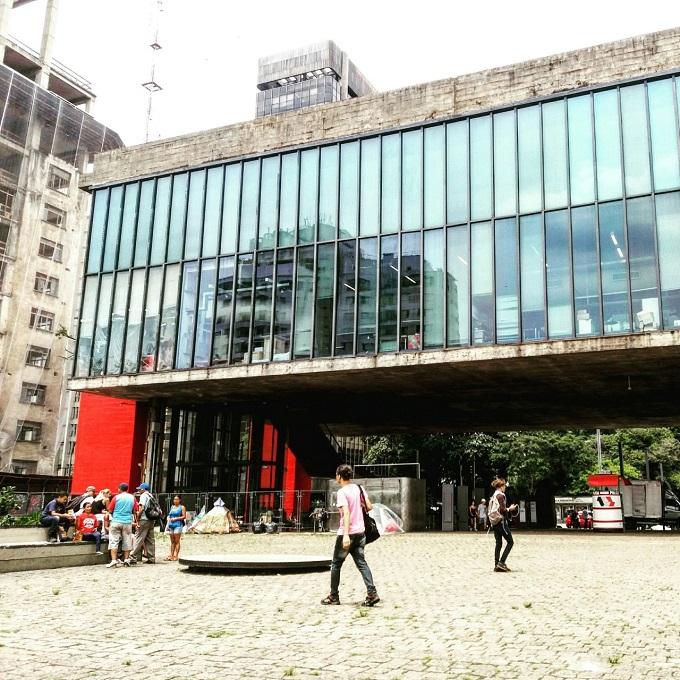 Fachada do Masp - um dos principais museus em SP