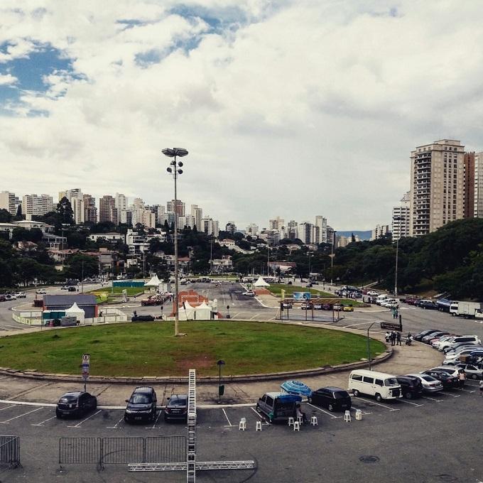 Estacionamento Museu do Futebol, em São Paulo