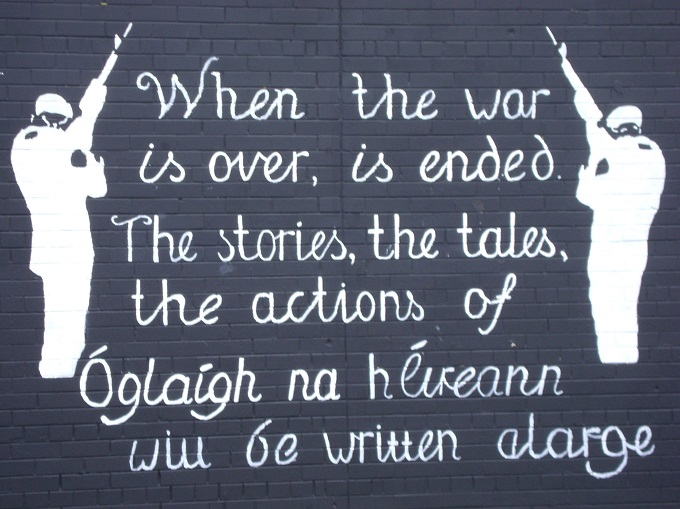Mural em Belfast
