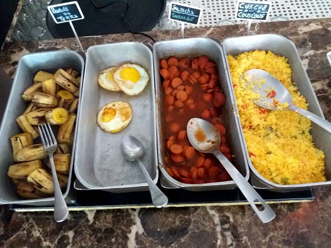 Café da manhã do The Hotel em Salvador