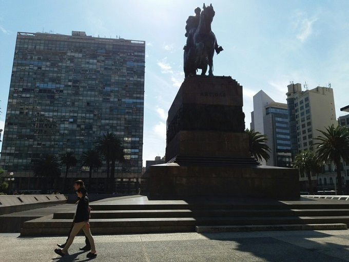 Plaza Independencia - Montevideo - Uruguai