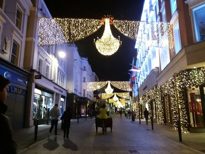 Onde se hospedar em Dublin: Grafton Street