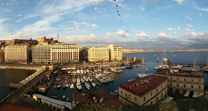 Castelos em Nápoles Itália