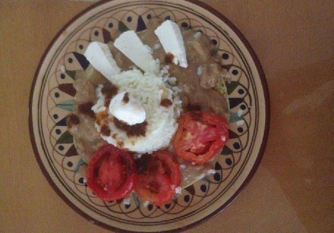 Comida mexicana: Enfrijolada