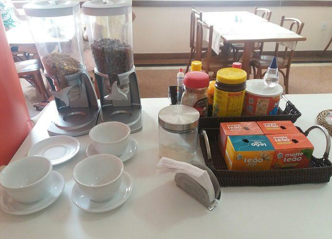 Café da manhã de hotel no Espírito Santo