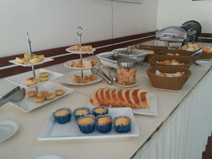 Café da manhã de hotel em Vila Velha