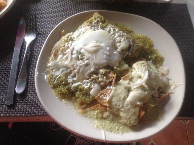 Pratos da gastronomia mexicana: enchiladas