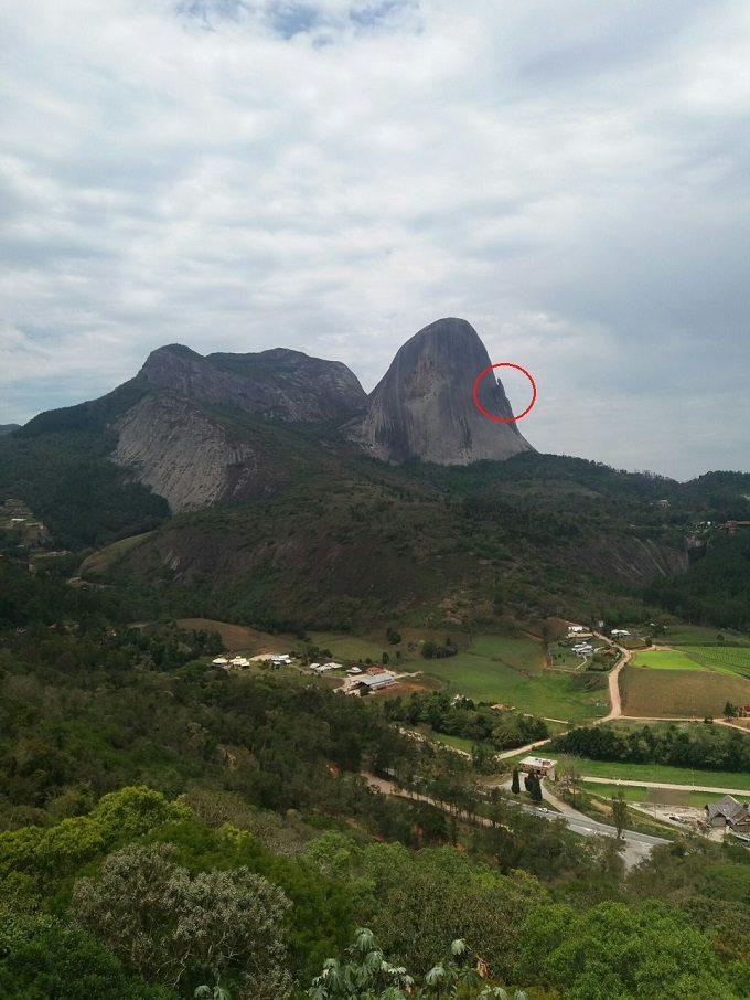 Pedra Azul nas Montanhas Capixabas