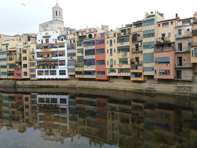 O que fazer em Girona: Casas do Onyar