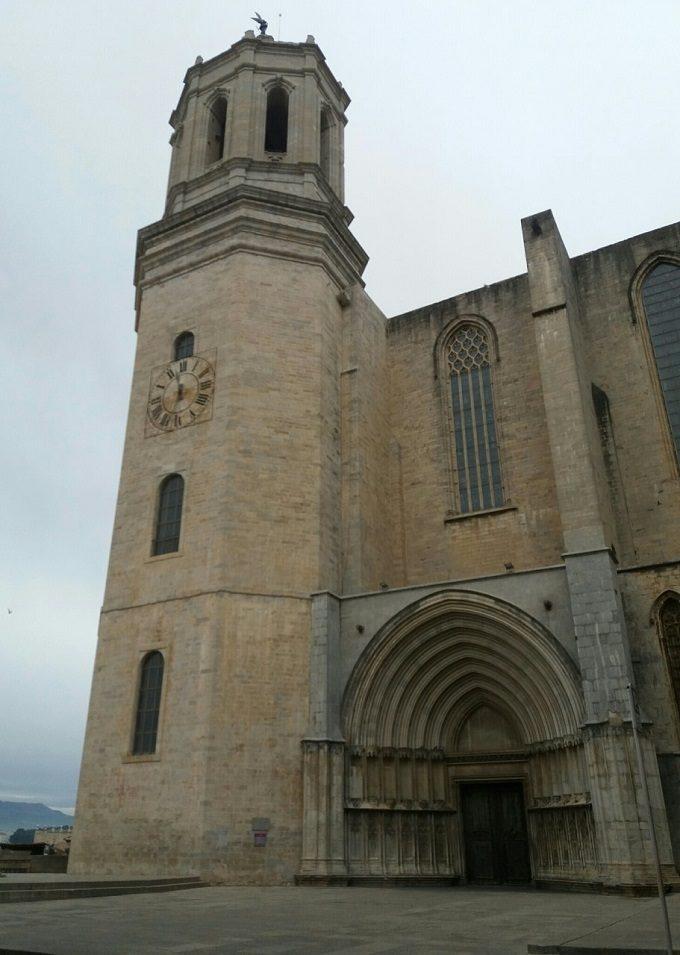 O que fazer em Girona: vista da Catedral