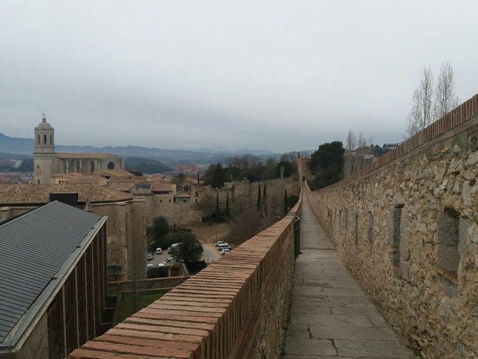 Muralhas de Girona, na Espanha