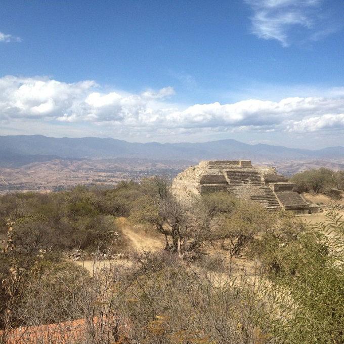 Monte Albán - Oaxaca - piramides no mexico