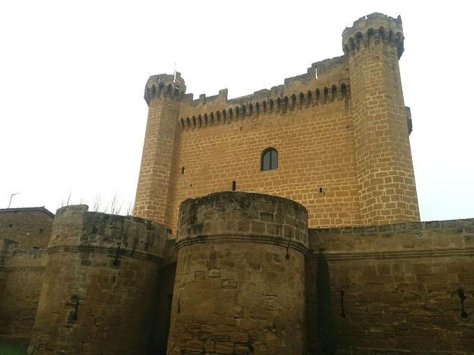 Castelo de Sajazarra em La Rioja