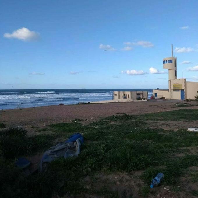 Praia de Casablanca no Marrocos