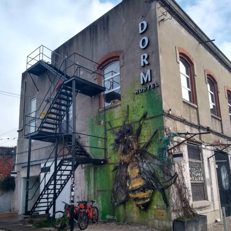 The Dorm - Hostel localizado dentro da LX Factory