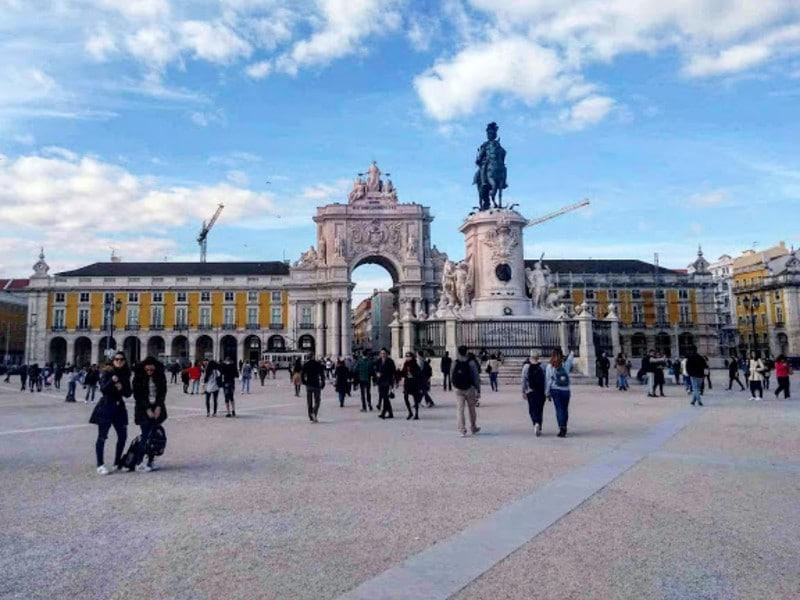 O que fazer em Lisboa: Praça do Comércio e Arco da Rua Augusta