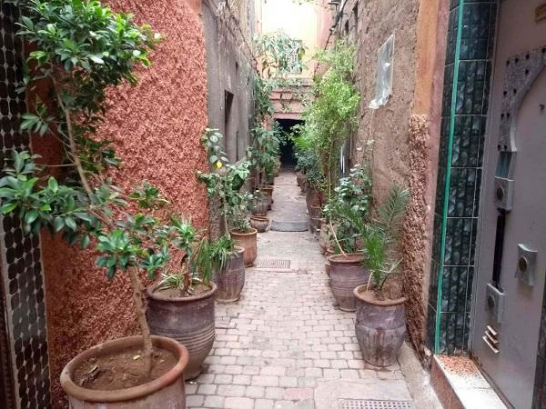 Hospedagem na Medina de Marrakech
