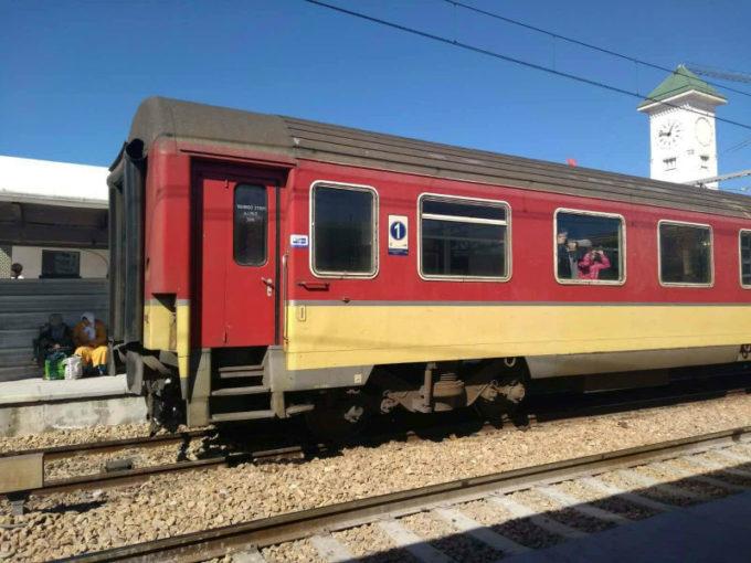 Trem no Marrocos
