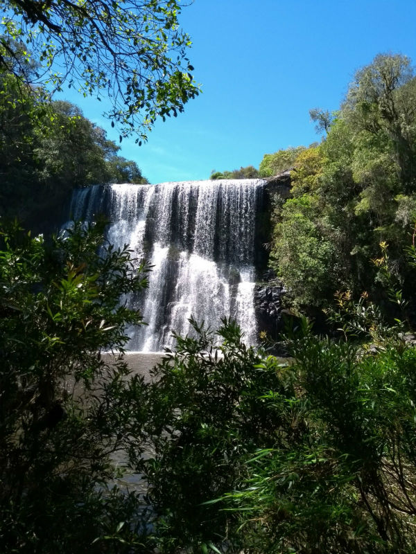 Cachoeira do Tio França, em Cambará do Sul
