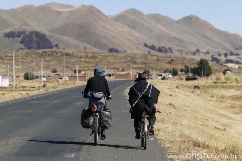 Viajar de bicicleta