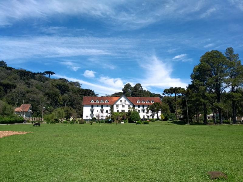 Hotel Cavalinho Branco, em São Francisco de Paula