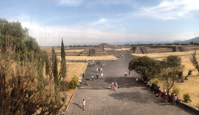 Pirâmides de Teotihuacan, no México