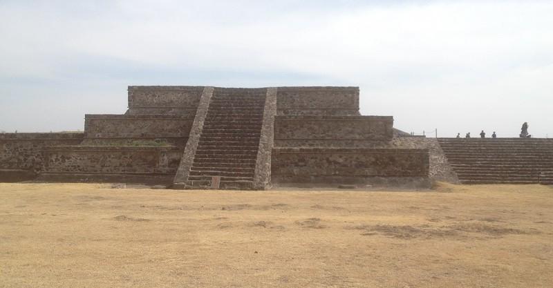 Ruínas de Teotihuacan no México