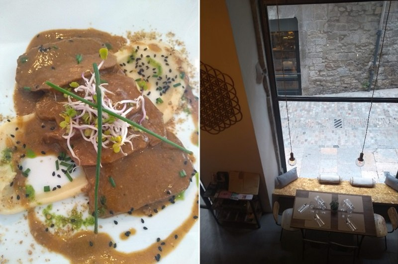 Restaurantes veganos em Girona: Om