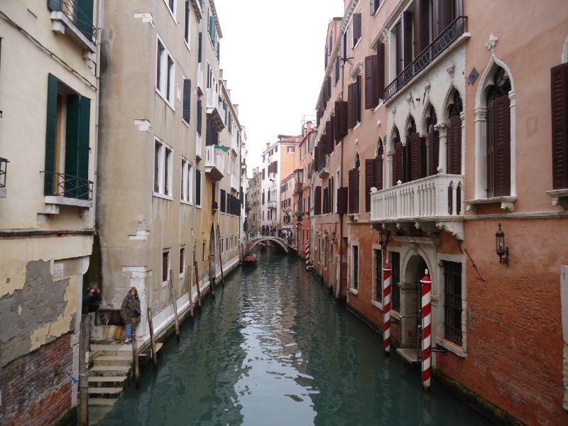 Roteiro pela Itália: canais de Veneza