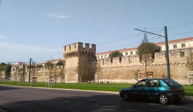 Muralha de Avignon França