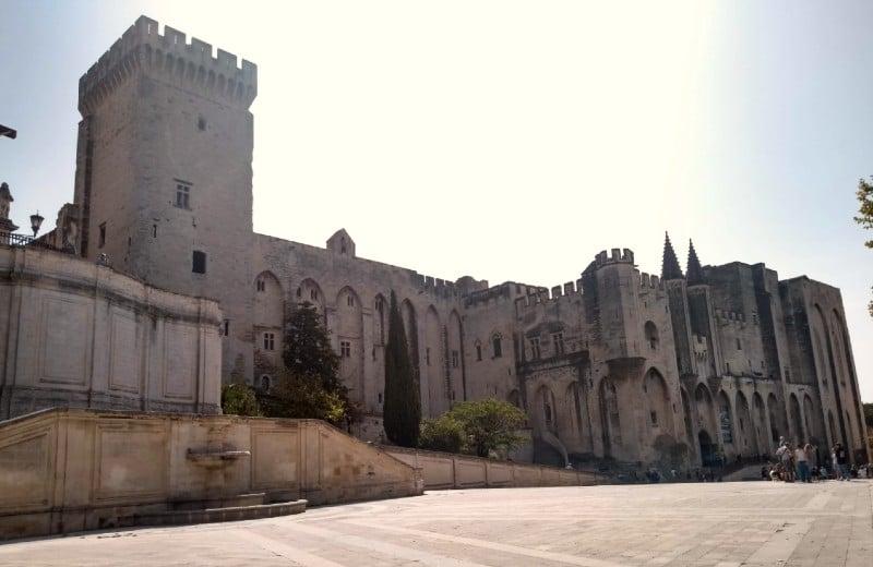 Palácio dos Papas em Avignon França