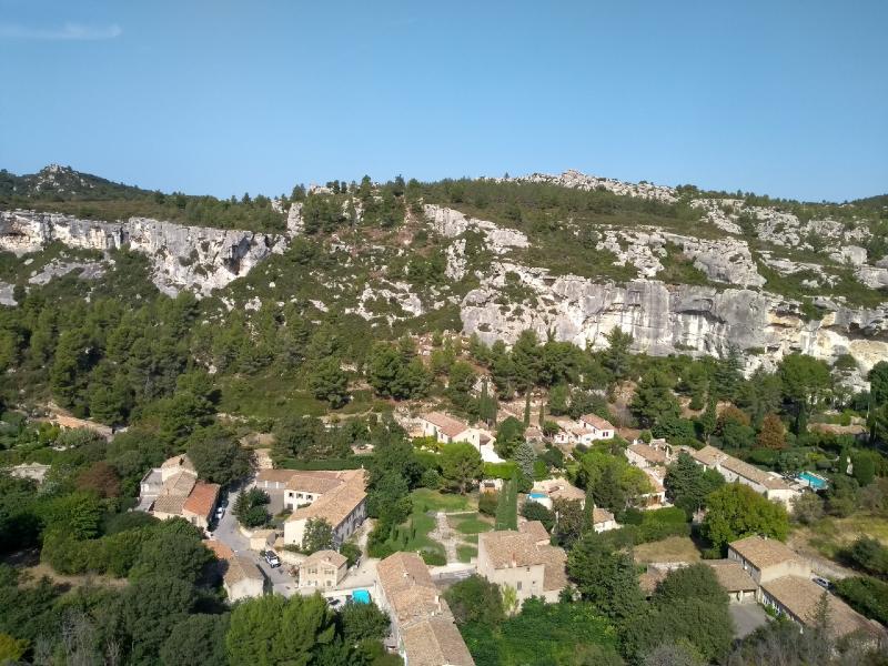 França de carro: Les-Baux de Provence